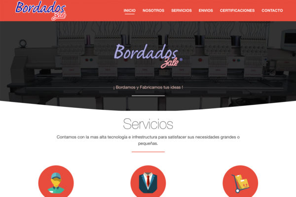 Bordados Zale – Website