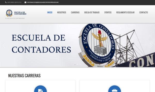 Escuela de Contadores – Website