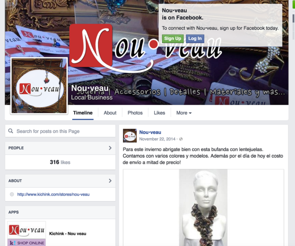 Nou•veau Social Media Set-Up