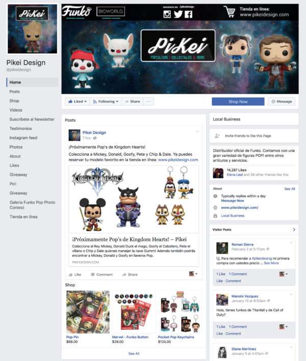 PiKei Social Media Set-Up & Management